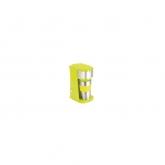 Cafetiera cu recipient de voiaj DomoClip DOD118V, 750W, cana din otel inodidabil de 0.42l, Verde