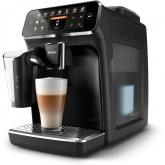 Espressor automat Philips LatteGo EP4341/50, 8 bauturi, 12 setari de macinare , Rasnita ceramica, 2 profiluri, Filtru AquaClean, Negru