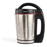 Fierbator DomoClip DOP121, Aparat de facut supa, 1000 W, Capacitate 1.6L, 3 functii, Argintiu/Negru