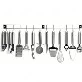 MEN110 Set 12 ustensile bucatarie Kitchen Artist, inox