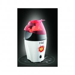 Aparat de facut popcorn Russell Hobbs Fiesta 24630-56, 1200 W, Tehnologie cu aer cald, Capac de masurat, Capacitate 35-50 g, Alb/Negru