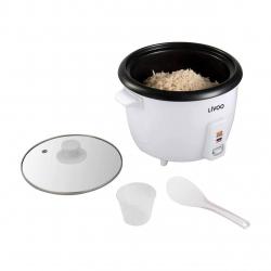 Aparat de gatit orez Livoo DOC111, capacitate 1.5 L, Alb