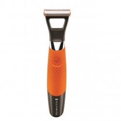 Aparat de ras si tuns barba Remington DuraBlade MB050, acumulator, 1-5 mm, Negru/Portocaliu