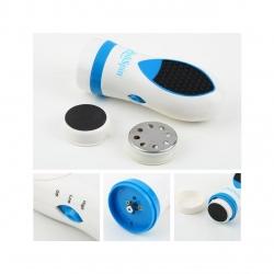 Aparat ingrijire picioare  Mediashop Pedi Spin, Alb/Albastru