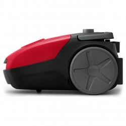 Aspirator cu sac Philips PowerGo FC8243/09, S-bag, 750 W, Eticheta Energetica AAA, Filtru Antialergic, Tub Telescopic, Rosu
