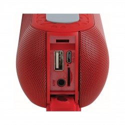 Boxa Portabila Bluetooth Clip Sonic TES199R BT 2x3W