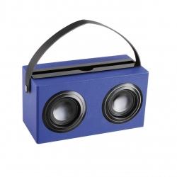 Boxa portabila Clip Sonic TES169B, Bluetooth, Baterie reincarcabila de 1200mAh, Auxiliar , Albastru