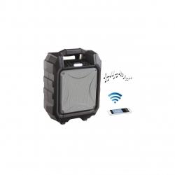 Boxa portabila tip troller ClipSonic TES182, 30W, 2 porturi USB, Display LED, AUX, Radio FM , Baterie reincarcabila, Negru/Argintiu