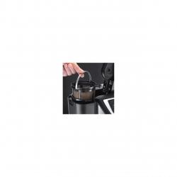 Cafetiera cu rasnita Russell Hobbs 22000-56, 1025 W, 1.25 l, 12 cesti, Negru/Argintiu 22000-56