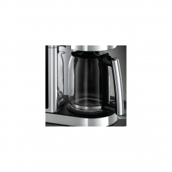 Cafetiera Russell Hobbs Elegance 23370-56, 1600 W, 1.25 L, Display LCD, Timer, Inox/Negru