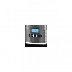 Cafetiera Russell Hobbs Geo Steel 25270-56, 1000 W, 1,5 L, Timer LCD, Selector aroma, Gri/Inox