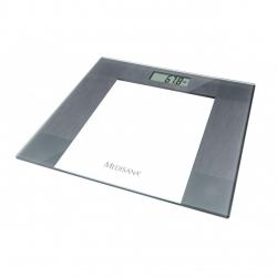 Cantar corporal Medisana PS 400, 150 kg, Sticla, Argintiu