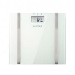 Cantar cu analizator corporal Ecomed BS-70E, 150 kg, 10 memorii, Platforma de sticla