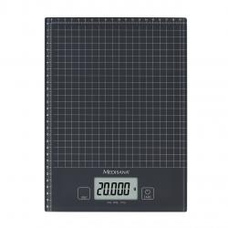 Cantar digital de bucatarie Medisana KS240 XL 40468, Display LCD, Negru