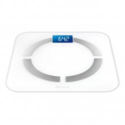 Cantar electronic Medisana BS 430 40422, Ecran LCD, Bluetooth, Analizator corporal, Oprire automata, Alb
