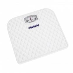 Cantar mecanic de persoane Mesko MS 8160 ,130 kg maxim,alb