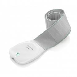 Centura pentru monitorizarea somnului Medisana SC800 79490, Bluetooth, Senzori somn, Alb/Gri