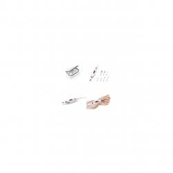 Dispozitiv de manichiura si pedichiura  Medisana  MP815 85153, 2 viteze , 2 directii, 7 capete , Alb/Mov