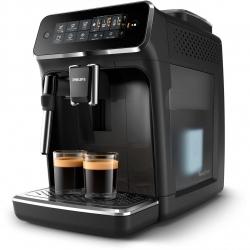 Espresor automat Philips EP3221/40, 4 bauturi, ecran tactil, stistem de spumare a laptelui, 1.8l, filtru AquaClean, 15bar, Negru