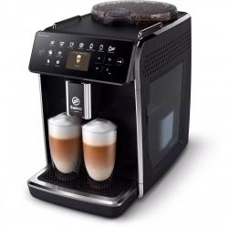 Espressor automat Philips Saeco GranAroma SM6480/00, 1500W, 15bar, 1.8l, Spumare automata, 14 bauturi, 3 presetari de gust, Argintiu/Negru