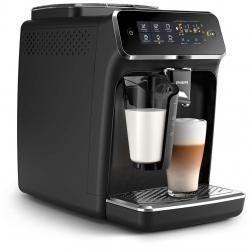 Espressor automat PHILIPS Seria 3200 LatteGo EP3241/50, 1.8l, 15 bari, afisaj tactil, Negru