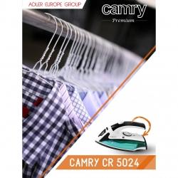 Fier de calcat cu aburi pentru calatorii Camry CR 5024