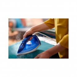 Fier de calcat Philips EasySpeed Plus GC2145/20, Talpa Ceramica, abur 110 g, Albastru