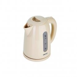 Fierbator Camry Kettle CR 1254 Standard, Bej, Putere 2200 W, baza rotativa 360 °, Capacitate 1,7 L