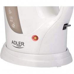 Fierbator electric Adler AD 03, Capacitate 1L, Putere 900W, Indicator led, Alb