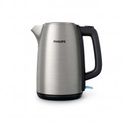 Fierbator Philips Daily Collection HD9351/91, Putere 1850 W, Capacitate 1.7 L, capac metalic, led indicator, Inox