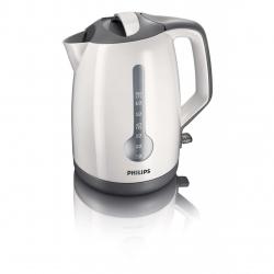 Fierbator Philips HD4649, Putere 2400 W, Capacitate 1.7 l, Alb/Gri