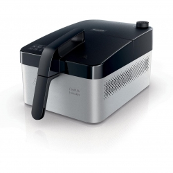Friteuza Philips HD9210/90, Putere 1400 W, 800 gr., timer, Argintiu