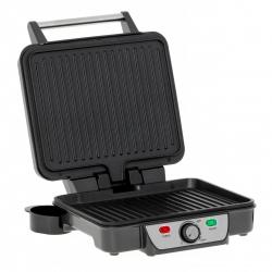 Gratar Electric Mesko MS30500, Putere 2500 W, Maner rece, Picioare alti-alunecare , Argintiu/Negru