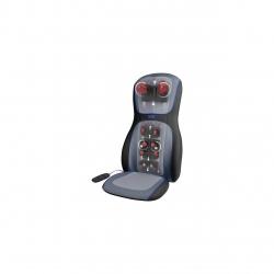 Husa de scaun pentru masaj Shiatsu Medisana MCS-1000H-VR, Telecomanda, 3 nivele de intensitate, Gri