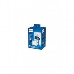 Kit aspirator Philips FC8060/01: 4 saci de praf S-bag, 1 filtru evacuare HEPA13, 1 filtru cu strat triplu, compatibil cu gamele Performer /Pro/Silent/Ultimate