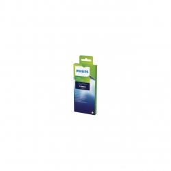 Kit de intretinere Philips Saeco CA6704/10, Tablete extragere ulei din mecanismul de preparare, 6 utilizari