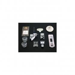 Masina de cusut electromecanica TOYOTA ERGO34D 34 programe 750 RPM 65W Alb Visiniu ERGO34D