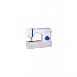 Masina de cusut Minerva Bluehorizon, 16 programe, 850 imp/min, Alb/Albastru