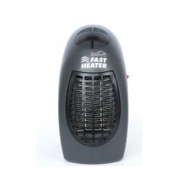 Mini aeroterma Mediashop Starlyf Fast Heater, 400W, Termostat , Negru