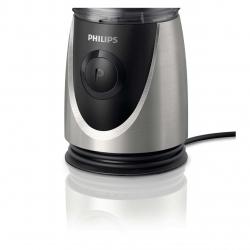 Mini blender Philips HR2875/00, 350 W, 2 recipiente x 0.6 L, 1 viteza, Negru