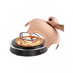 Mini-cuptor pentru pizza DomoClip DOC110A, 1200W, 1 pizza Ø 25 cm sau 6 mini-pizza Ø 11 cm