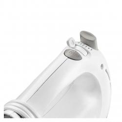 Mixer de mana Philips HR1459/00, 300 W, 5 viteze, Functie Turbo, Alb