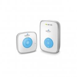 Monitor digital audio pentru bebelusi Bayby BBM 7000, raza 300 m, 5 trepte de volum, Alb/Albastru