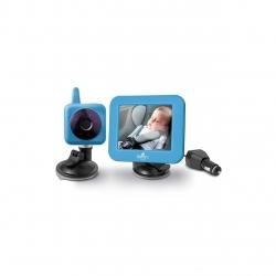 "Monitor video digital bebelusi pentru acasa si masina Bayby BBM 7030, Raza de actiune 250m, Ecran LCD 3,5"", 2.14 GHs, Albastru"