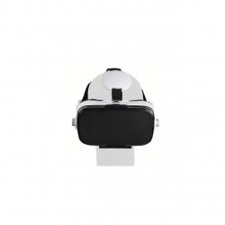 Ochelari VR Clip Sonic TEC595, Casti integrate, Suport de prindere cu elastic, Controler, Alb/Negru