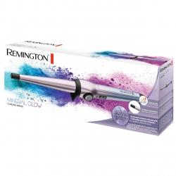 Ondulator conic Remington Mineral Glow CI5408, 13-25 mm, Invelis ceramic cu 4 minerale, Mov
