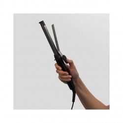 Ondulator Remington Pro Spiral Curl CI5519, Ceramica cu Titan si Turmalina, 19 mm, 140 - 210°C, Gri/Argintiu