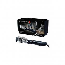 Perie cu aer cald Remington Airstyler Amaze AS1220, 1200 W, Ionizare, 3 Trepte de temperatura, Grila ceramica, Negru