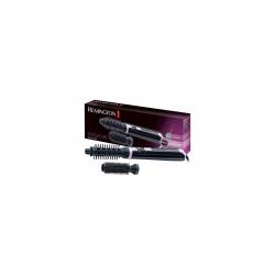 Perie cu aer cald Remington Style & Curl AS404, 400W, 2 trepte de temperatura, 2 accesorii, Negru