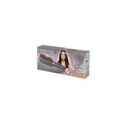 Perie electrica de indreptat parul Remington Keratin Protect CB7480, 230°C, invelis ceramic, Argintiu CB7480